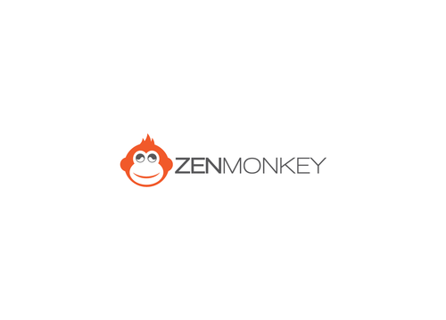 Zen Monkey A Logo, Monogram, or Icon  Draft # 490 by LogoSmith2