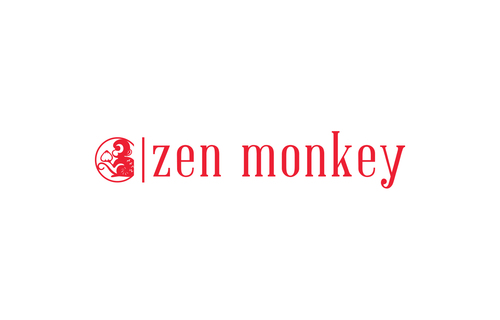 Zen Monkey A Logo, Monogram, or Icon  Draft # 494 by aviraDVO