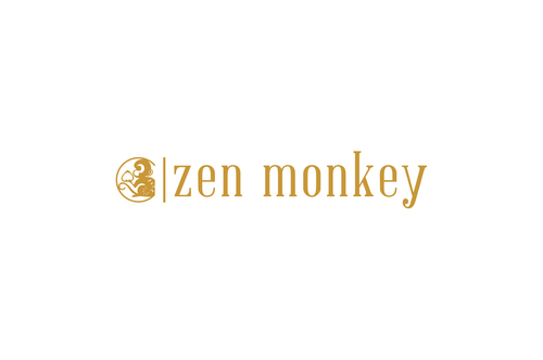 Zen Monkey A Logo, Monogram, or Icon  Draft # 499 by aviraDVO