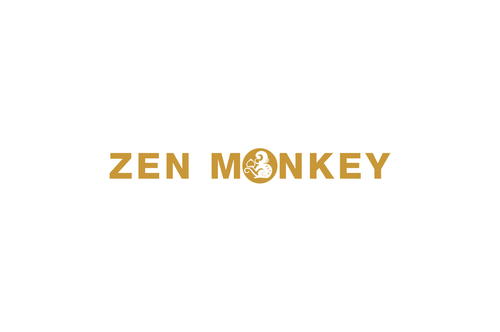 Zen Monkey A Logo, Monogram, or Icon  Draft # 501 by aviraDVO