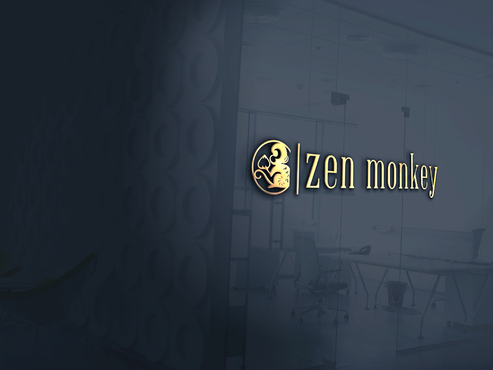 Zen Monkey A Logo, Monogram, or Icon  Draft # 502 by aviraDVO