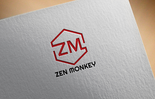 Zen Monkey A Logo, Monogram, or Icon  Draft # 517 by mazhar-baloch-90