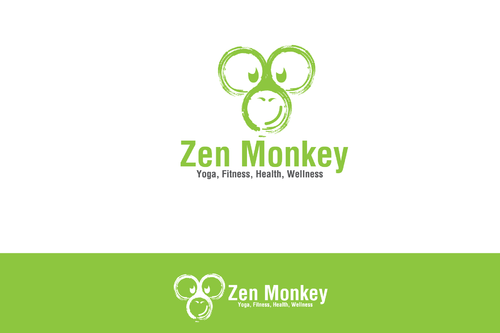 Zen Monkey A Logo, Monogram, or Icon  Draft # 530 by BitDE3Dimensional