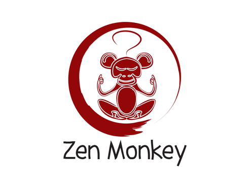 Zen Monkey A Logo, Monogram, or Icon  Draft # 534 by EGraph