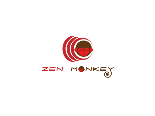 Zen Monkey A Logo, Monogram, or Icon  Draft # 545 by arcfied07