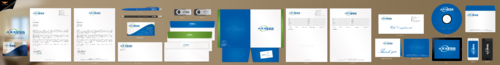Axxess Networks Business Cards and Stationery Winning Design by einsanimation