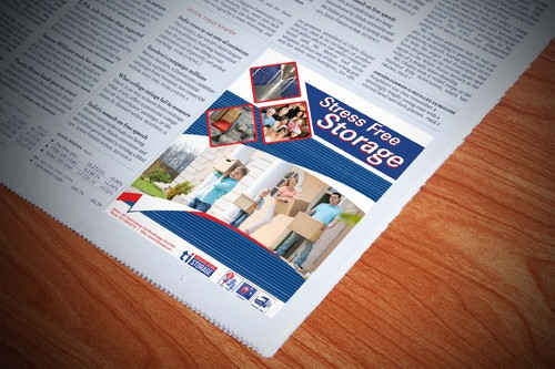 Storage Print Ads Marketing collateral  Draft # 1 by amrdesigns