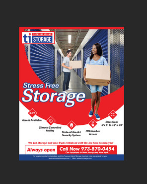 Storage Print Ads Marketing collateral  Draft # 17 by amrdesigns