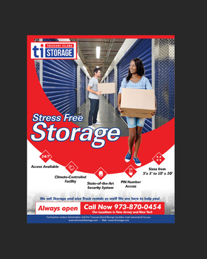 Storage Print Ads Marketing collateral  Draft # 19 by amrdesigns