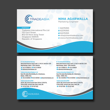 Visiting Card Design  Business Cards and Stationery  Draft # 331 by CreativeCollage
