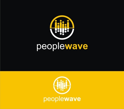Peoplewave A Logo, Monogram, or Icon  Draft # 395 by gheztnation