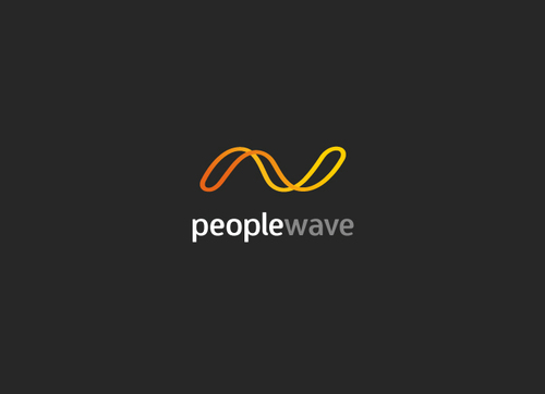 Peoplewave Logo Winning Design by diegokcres