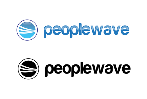 Peoplewave A Logo, Monogram, or Icon  Draft # 480 by elvectora