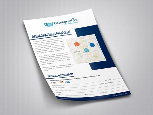 We sell demographic reports. We need proposal templates for our customers