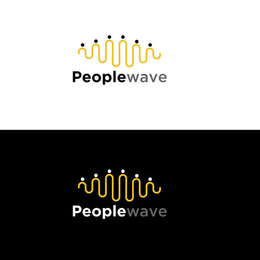 Peoplewave A Logo, Monogram, or Icon  Draft # 571 by khanlogo