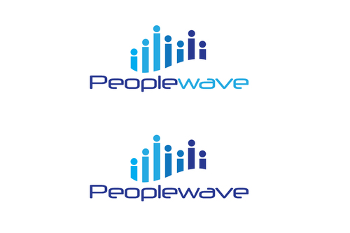 Peoplewave A Logo, Monogram, or Icon  Draft # 607 by bilalali