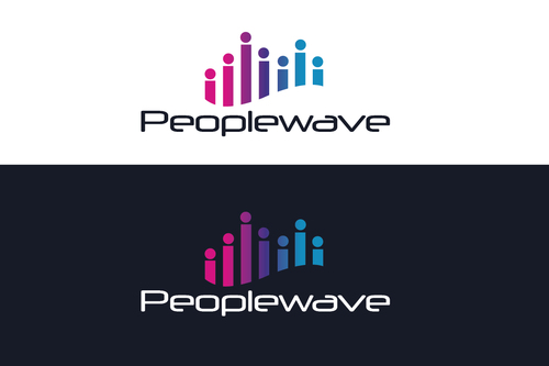 Peoplewave A Logo, Monogram, or Icon  Draft # 608 by bilalali