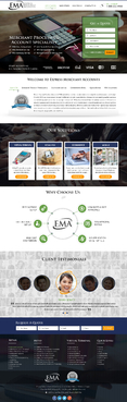 Credit Card Processing company Complete Web Design Solution  Draft # 40 by jogdesigner