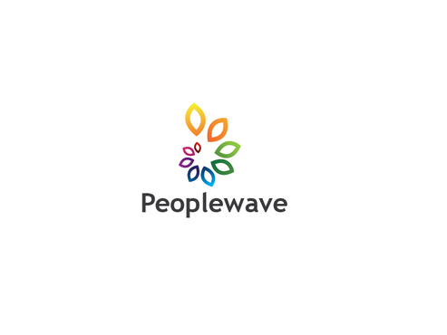 Peoplewave A Logo, Monogram, or Icon  Draft # 868 by zalpha