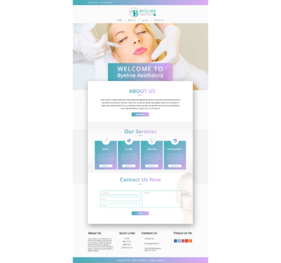 Aesthetic Consulting/Training Complete Web Design Solution  Draft # 64 by 5StarDesigners
