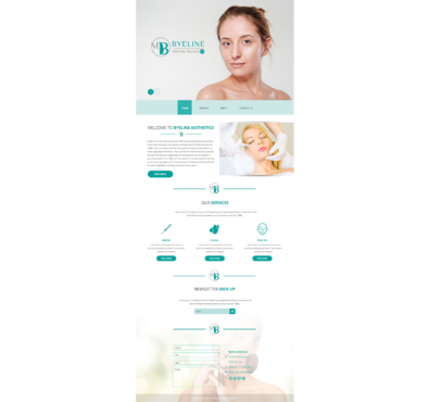 Aesthetic Consulting/Training Complete Web Design Solution  Draft # 65 by 5StarDesigners