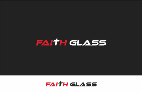 Faith Glass (a cross fro the t) A Logo, Monogram, or Icon  Draft # 123 by tomovart