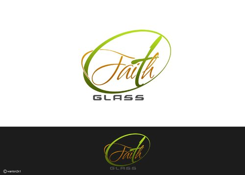 Faith Glass (a cross fro the t) A Logo, Monogram, or Icon  Draft # 151 by wanton2k1