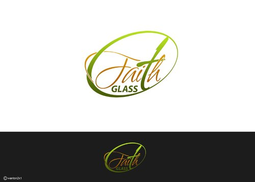 Faith Glass (a cross fro the t) A Logo, Monogram, or Icon  Draft # 153 by wanton2k1