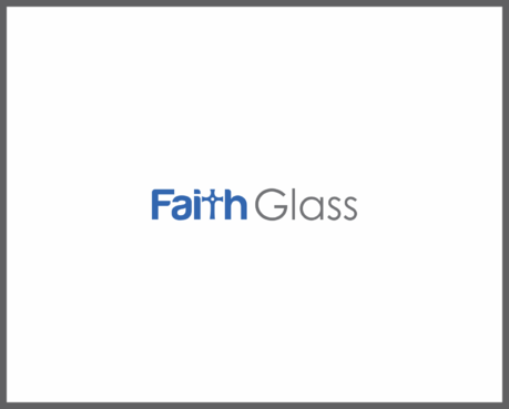 Faith Glass (a cross fro the t) A Logo, Monogram, or Icon  Draft # 163 by thebloker