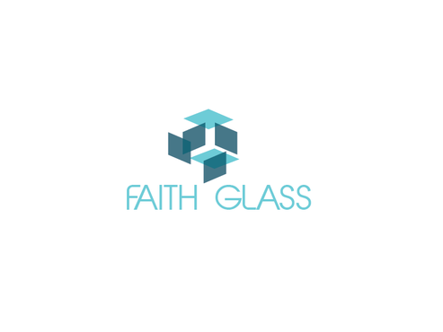 Faith Glass (a cross fro the t) A Logo, Monogram, or Icon  Draft # 164 by zalpha