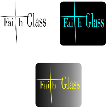 Faith Glass (a cross fro the t) A Logo, Monogram, or Icon  Draft # 169 by herocute21