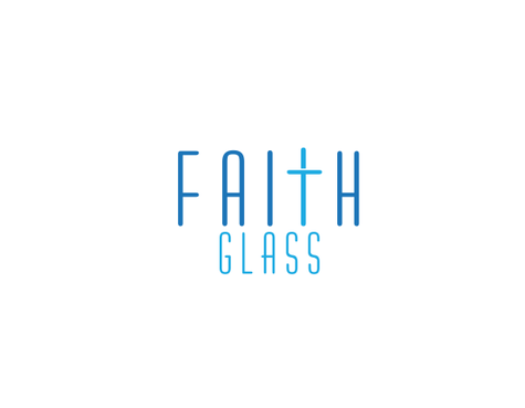 Faith Glass (a cross fro the t) A Logo, Monogram, or Icon  Draft # 171 by odc69