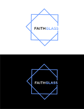 Faith Glass (a cross fro the t) A Logo, Monogram, or Icon  Draft # 198 by khayat