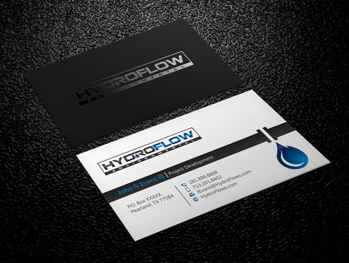 HydroFlow Environmental Business Cards and Stationery  Draft # 150 by Xpert
