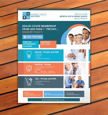 Marble Arch MED Centre Marketing collateral  Draft # 10 by sevensky
