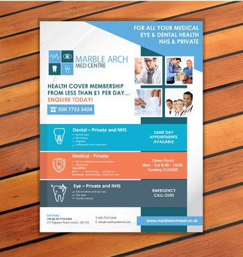 Marble Arch MED Centre Marketing collateral  Draft # 13 by sevensky