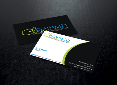 Clean Claim MD Business Cards and Stationery  Draft # 158 by AbdulMoiz