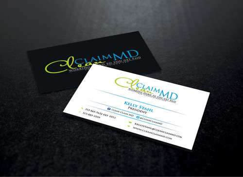 Clean Claim MD Business Cards and Stationery  Draft # 165 by AbdulMoiz