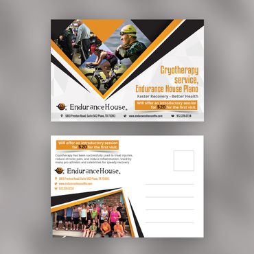 Endurance House Plano Marketing collateral  Draft # 2 by design0107