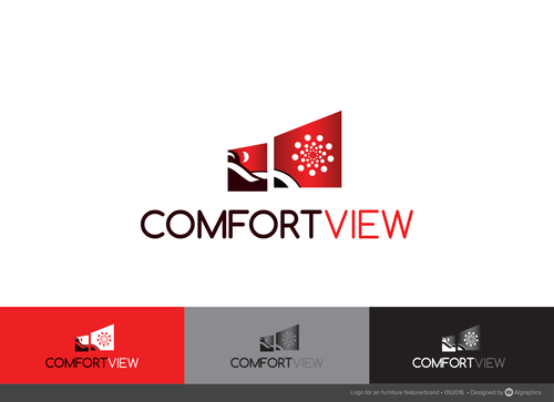 ComfortView A Logo, Monogram, or Icon  Draft # 392 by ALgraphics