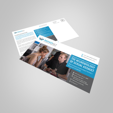 Education Postcard  Marketing collateral Winning Design by pivotal