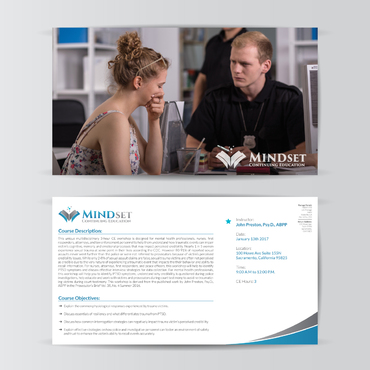 Education Postcard  Marketing collateral  Draft # 39 by deseinstein