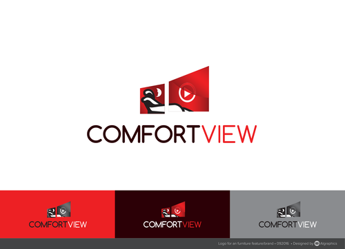 ComfortView A Logo, Monogram, or Icon  Draft # 515 by ALgraphics