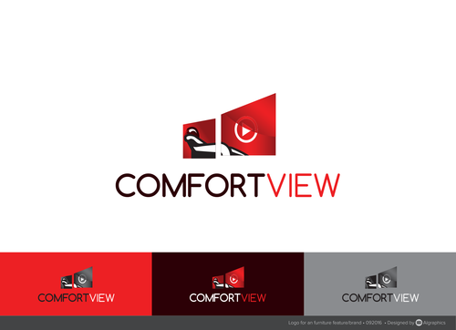 ComfortView A Logo, Monogram, or Icon  Draft # 621 by ALgraphics