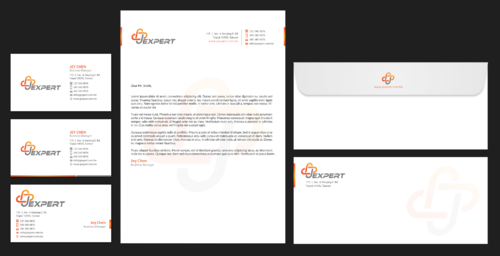 Jexpert Chemicals Co., Ltd. Business Cards and Stationery Winning Design by einsanimation
