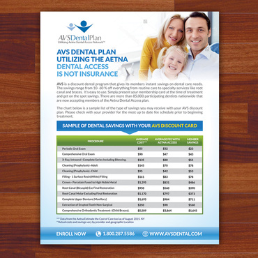 Print ad for Discount Dental Plan Marketing collateral  Draft # 40 by Kaiza