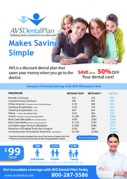 Print ad for Discount Dental Plan Marketing collateral  Draft # 46 by mwgrafis
