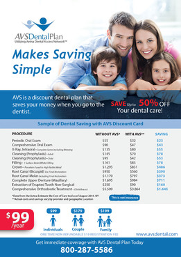 Print ad for Discount Dental Plan Marketing collateral  Draft # 50 by mwgrafis