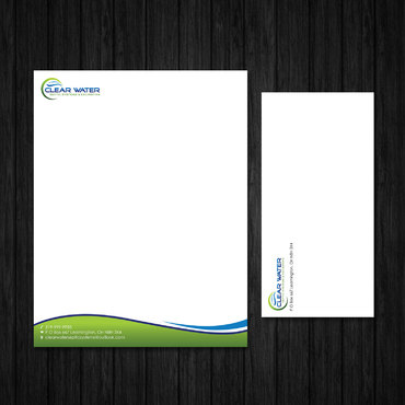 Business Cards, Envelopes, Letterheads Business Cards and Stationery  Draft # 5 by webhubsolution