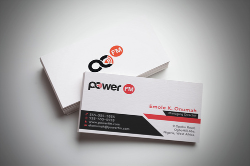 Power FM Business Cards and Stationery  Draft # 192 by webhubsolution